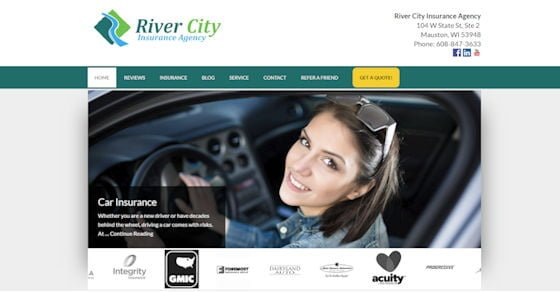New River City Insurance Agency Website